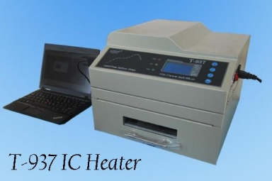 T-937 SMD BGA Infrared Heater Automatic Lead-free Reflow Oven 2300W 306mmx322mm